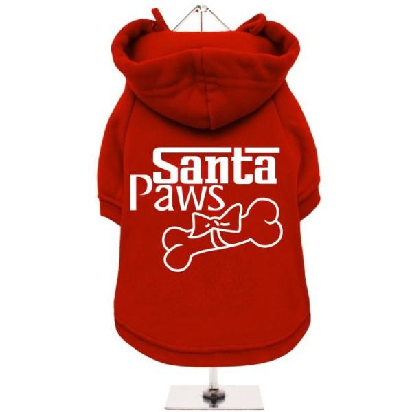 Χριστουγεννιάτικο Κόκκινο Φούτερ για Σκύλους Santa Paws