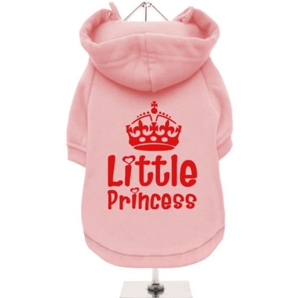 Ροζ Φούτερ για Σκύλους Little Princess