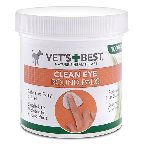 Vet's Best Μαντηλάκια Καθαρισμού Ματιών Σκύλου 50pcs