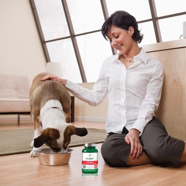 Vet's Best Συμπλήρωμα Διατροφής για Σκύλους για Δέρμα και Τρίχωμα