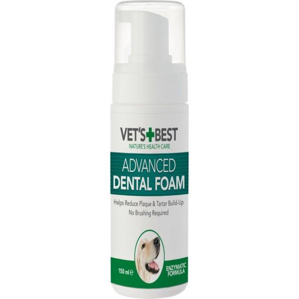 Vet's Best Αφρός Καθαρισμού Δοντιών 150ml