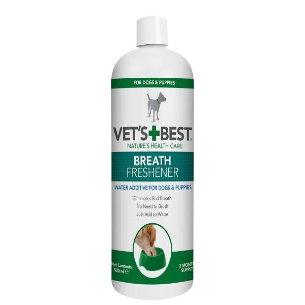 Vet's Best Διάλυμα για Σκύλους για Δροσερή Αναπνοή 500ml