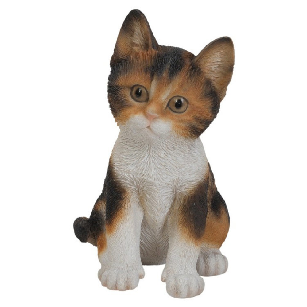 Διακοσμητικό Ομοίωμα Γάτας Real Life Tricolor Kitten