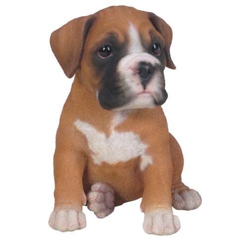 Διακοσμητικό Ομοίωμα Σκύλου Boxer Puppy