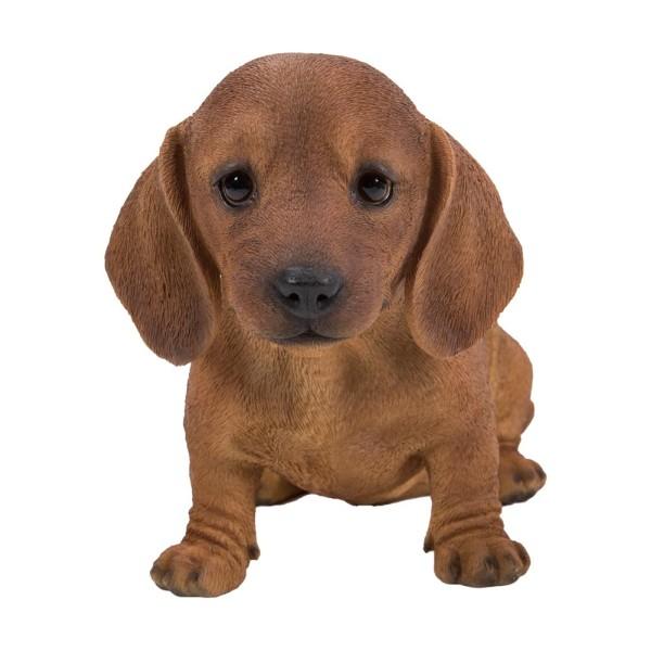 Διακοσμητικό Ομοίωμα Σκύλου Real Life Dachshund Puppy