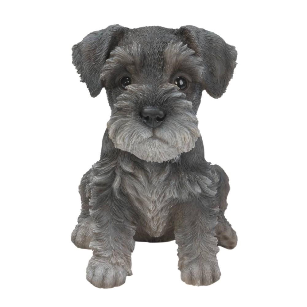 Διακοσμητικό Ομοίωμα Σκύλου Real Life Mini Schnauzer Puppy