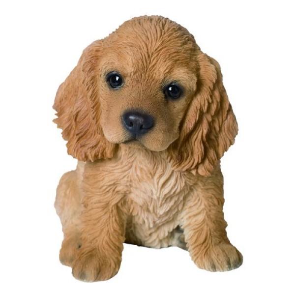 Διακοσμητικό Ομοίωμα Σκύλου Real Life Cocker Spaniel Puppy