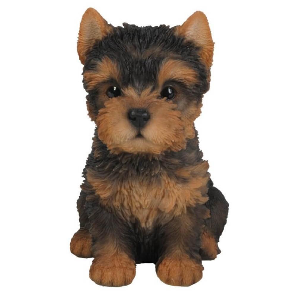 Διακοσμητικό Ομοίωμα Σκύλου Real Life Yorkshire Terrier Puppy