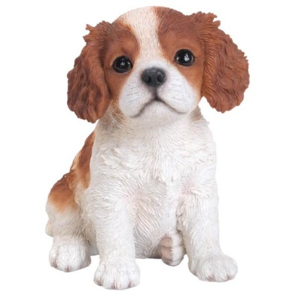 Διακοσμητικό Ομοίωμα Σκύλου Real Life King Charles Puppy