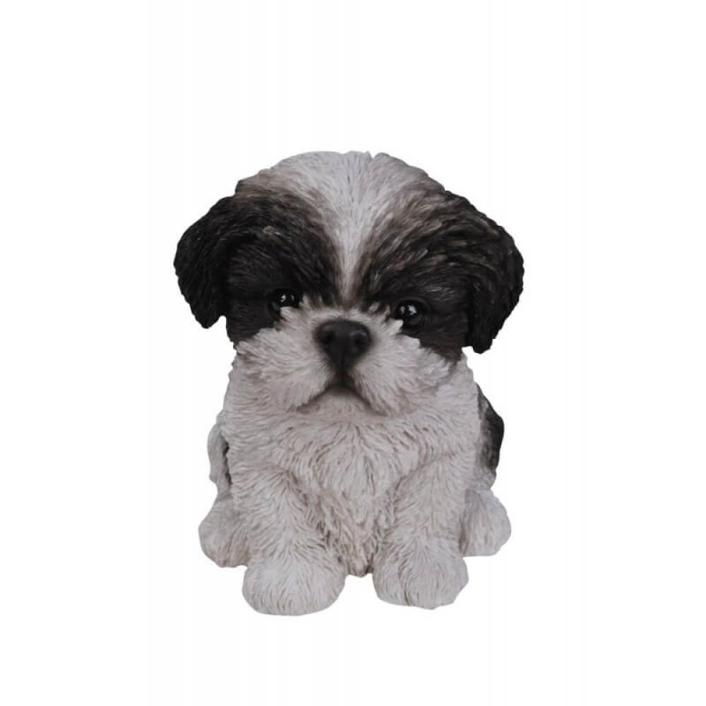 Διακοσμητικό Ομοίωμα Σκύλου Real Life Shihtzu Puppy