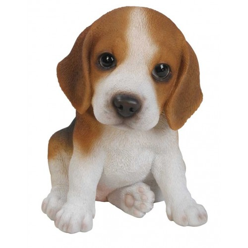 Διακοσμητικό Ομοίωμα Σκύλου Real Life Beagle Puppy