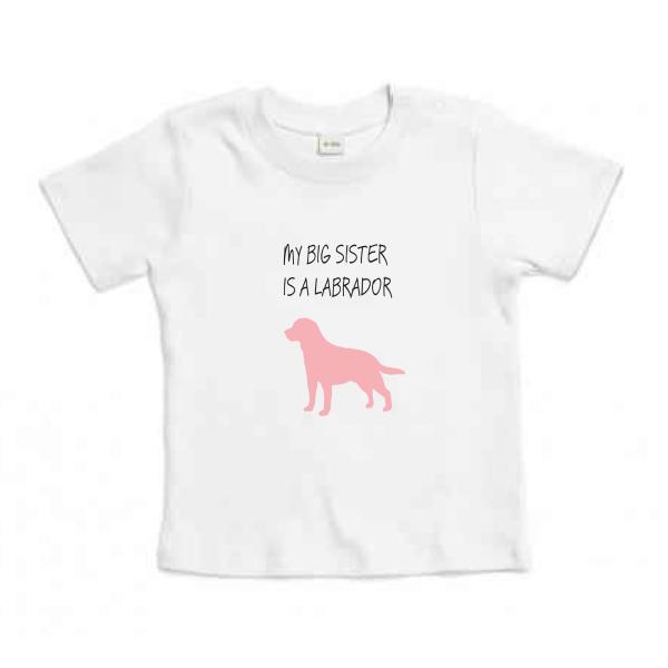 Βρεφικό Οργανικό T-shirt Labrador