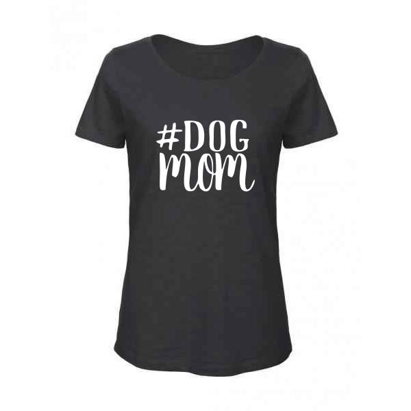 Γυναικείο Οργανικό T-shirt φλάμα Dog mum